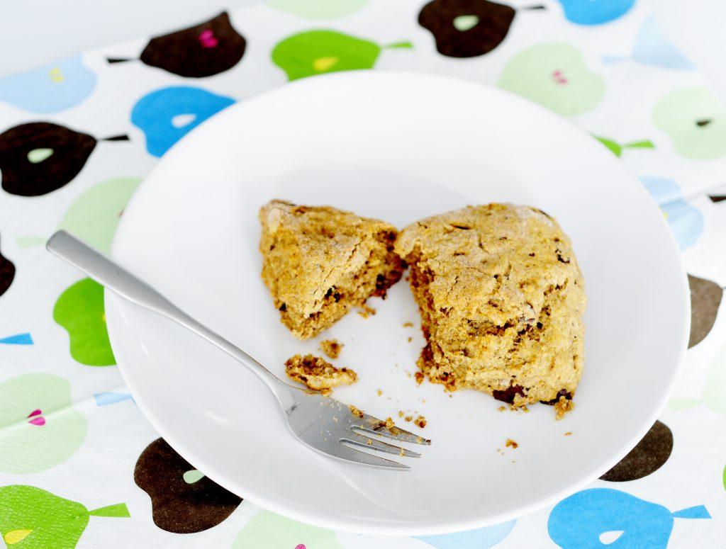 Chocolate Walnut Scone Recipe - Vegan Family Recipes