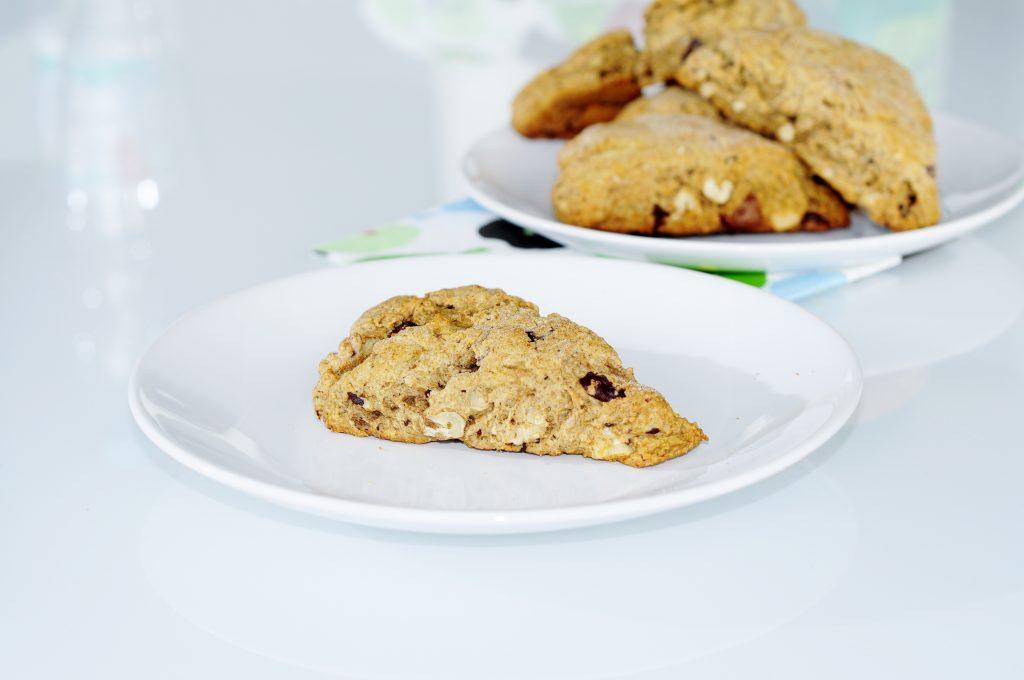 Walnut Chocolate Scone Recipe - Vegan Family Recipes