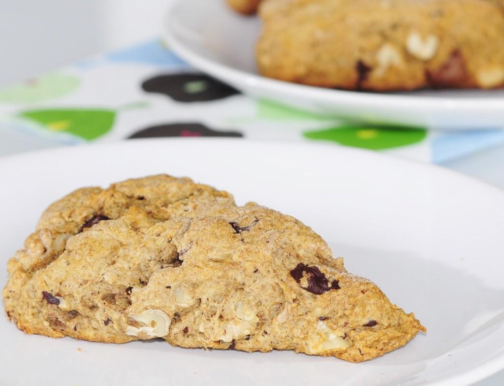 Chocolate Walnut Scones Recipe - Vegan Family Recipes