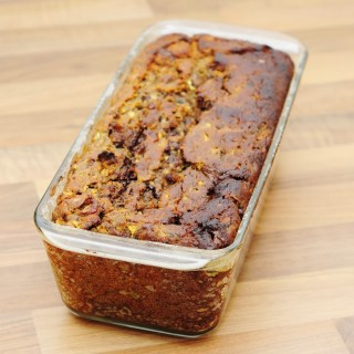 Chocolate Zucchini Walnut Bread