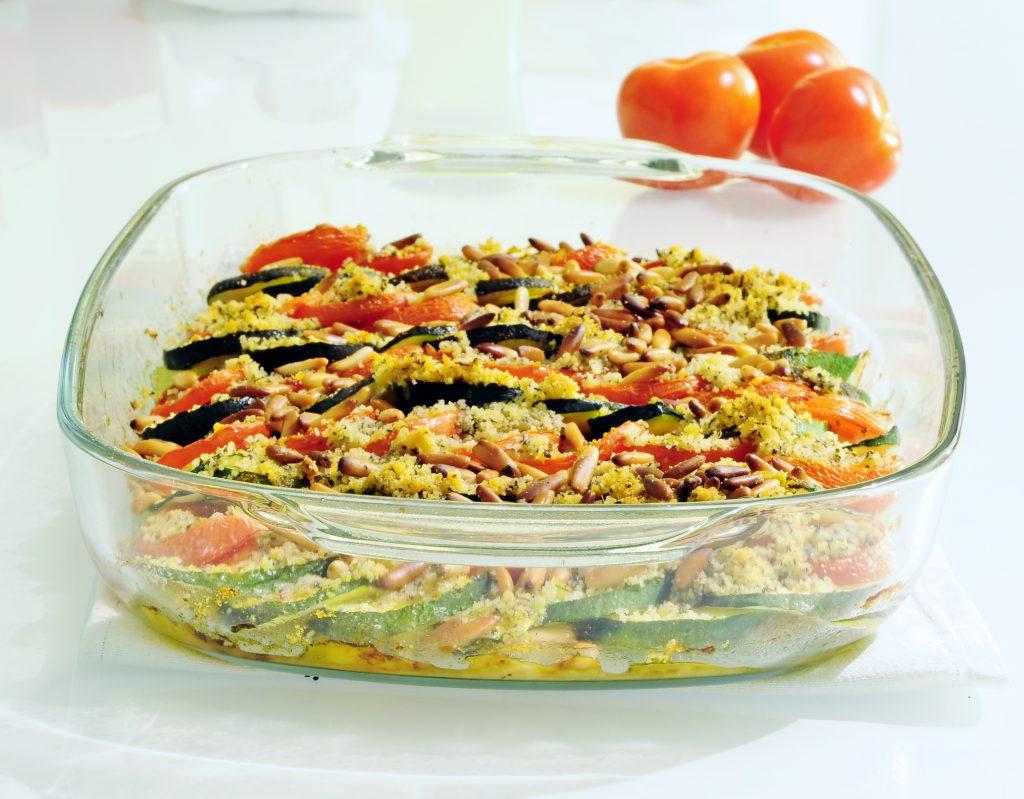 Zucchini Tomato Tian Recipe - Vegan Family Recipes