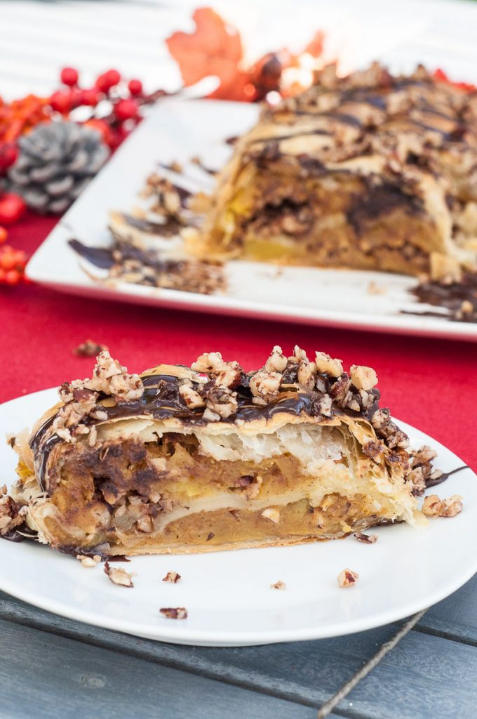 Pumpkin Strudel Recipe Chocolate Squash - Vegan Family Recipes