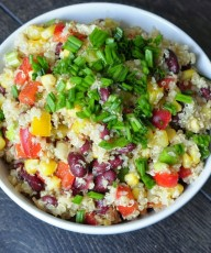 Southwest Quinoa Salad - Vegan Family Recipes