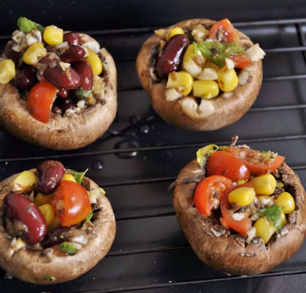 Easy stuffed mushrooms recipes