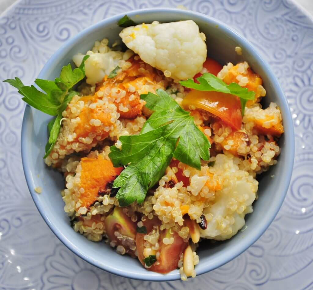 Sweet Potato Quinoa Salad - Vegan Family Recipes