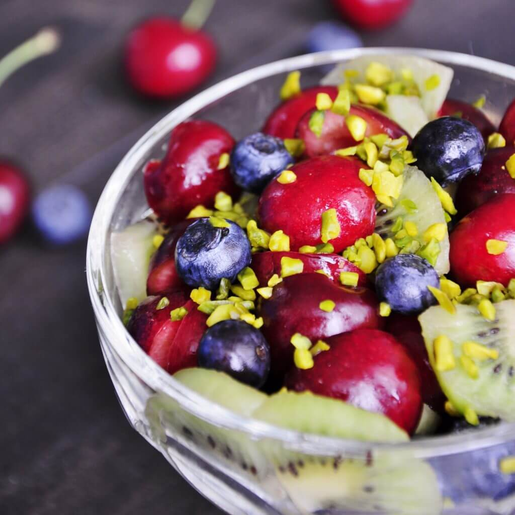 Antioxidant Cherry Fruit Salad