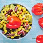 Habanero Corn Salad / Salsa - Vegan Family Recipes
