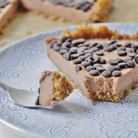 Chocolate Mousse tart recipe - Vegan Family Recipes