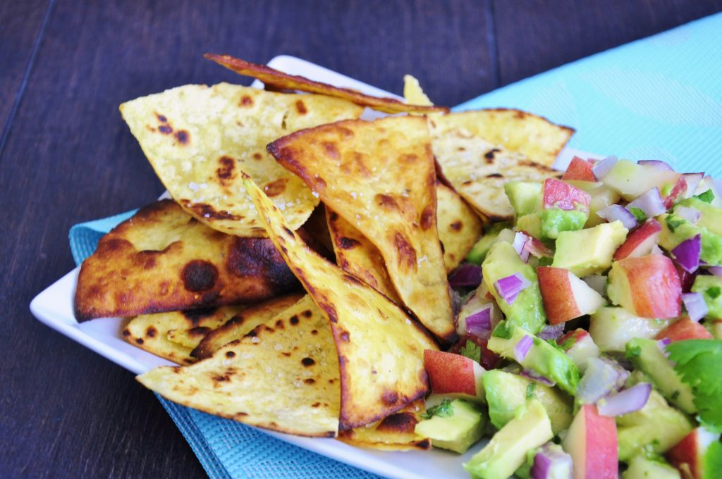 Coconut Oil Tortilla Chip Recipe - Vegan Family Recipes