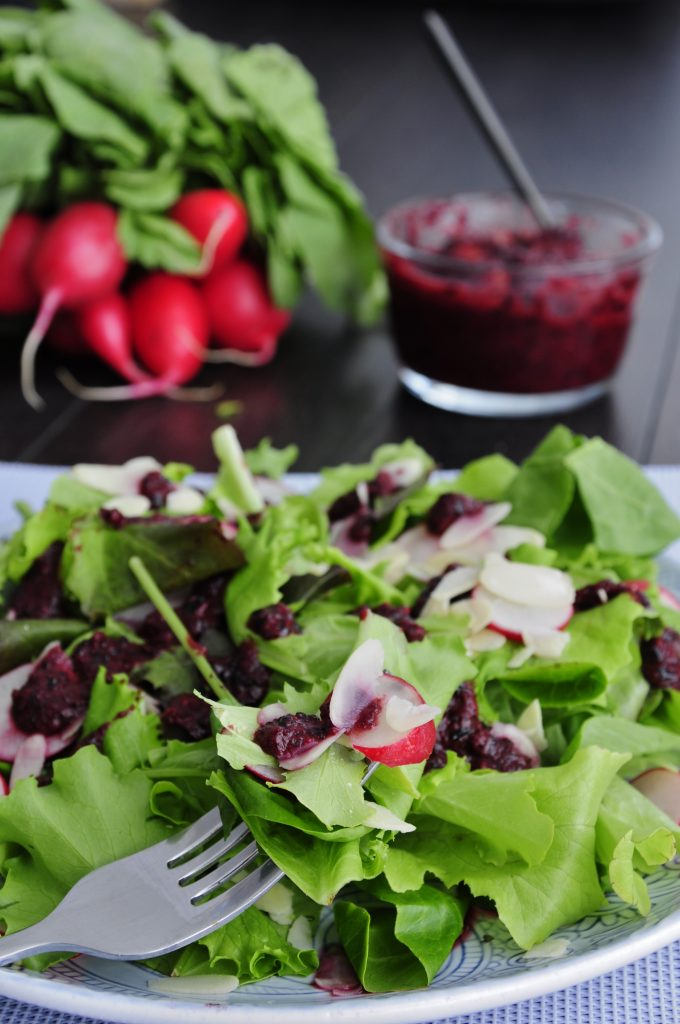 Blueberry Salad Dressing Recipe - Vegan Family Recipes