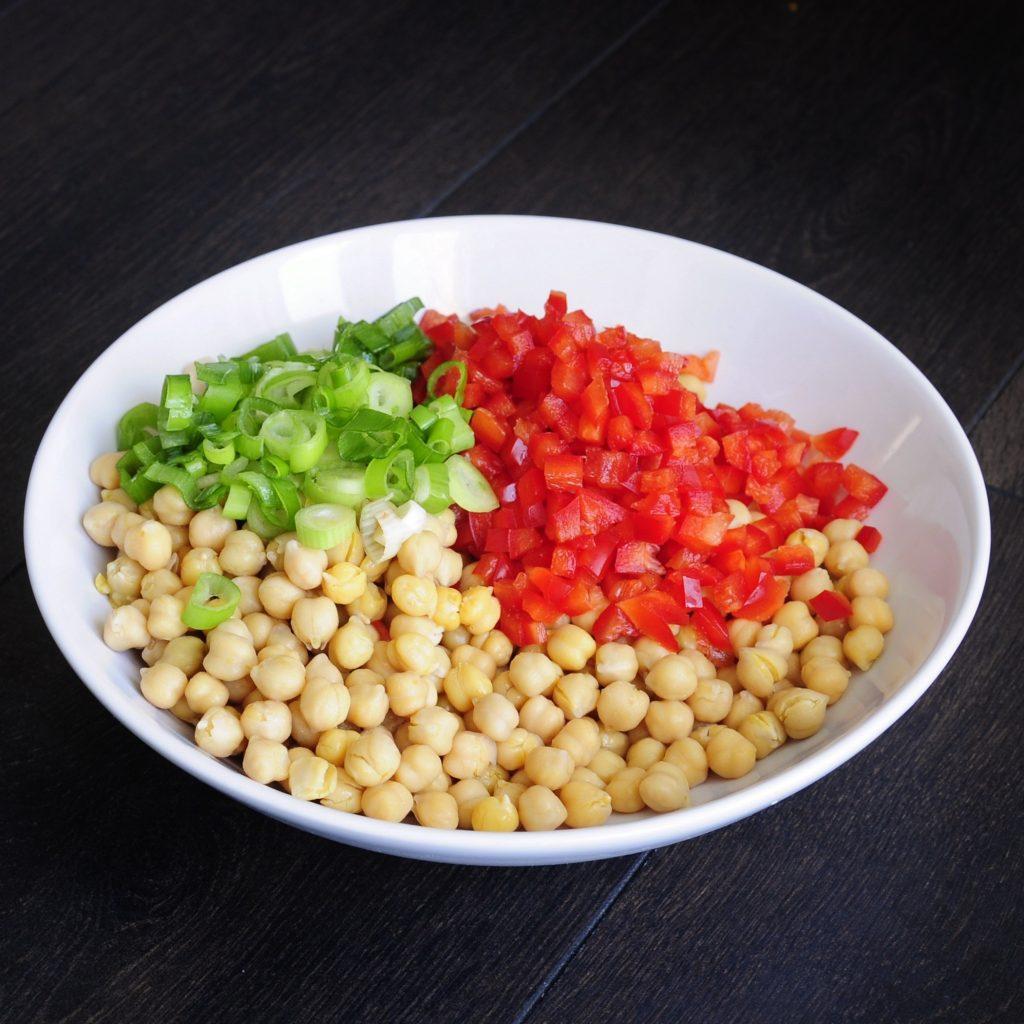 Easy Vegan Chickpea Salad Recipe - Vegan Family Recipes Gluten-free