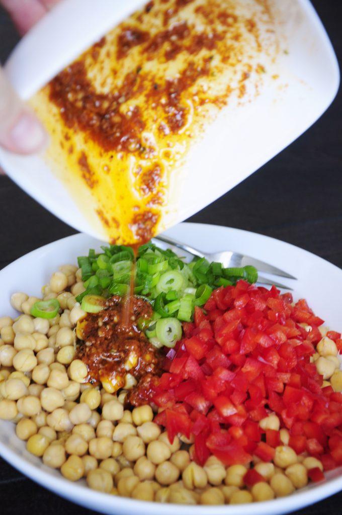 Easy Vegan Chickpea Salad Recipe - Vegan Family Recipes