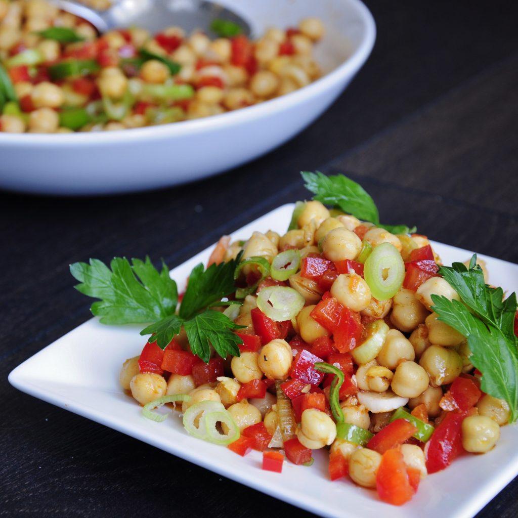 Healthy Vegan Chickpea Salad Recipe - Vegan Family Recipes