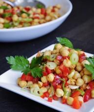 Healthy Chickpea Salad Recipe - Vegan Family Recipes
