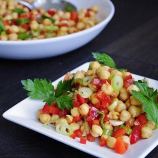 Easy Vegan Chickpea Salad