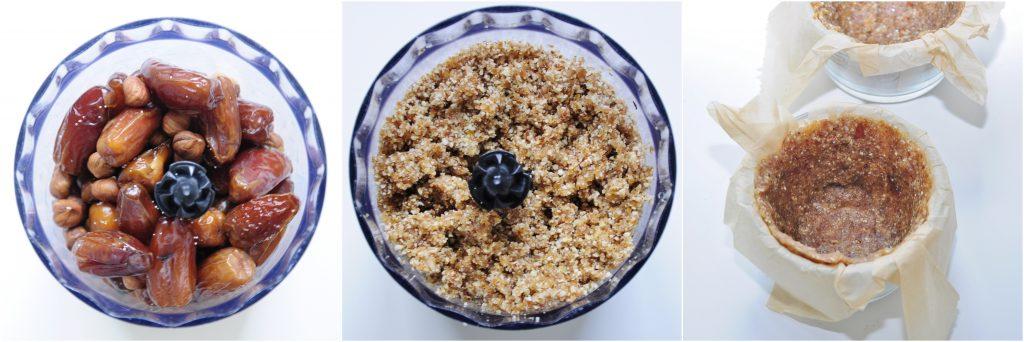 Hazelnut Crust mini Pie recipe  - Vegan Family Recipes