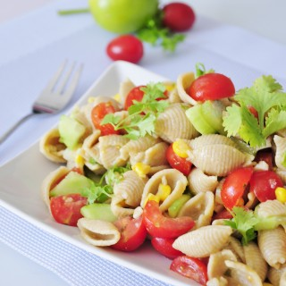 Vegan Pasta Salad with Lime