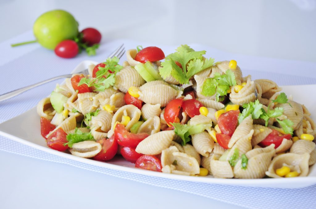 Healthy Pasta Salad Recipe - Vegan Family Recipes