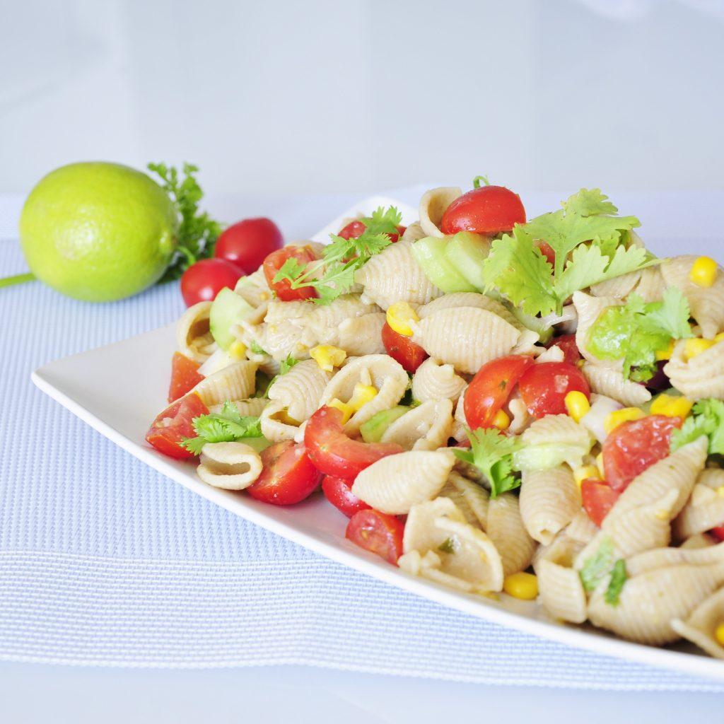 Whole Wheat Pasta Salad Recipe - Vegan Family Recipes