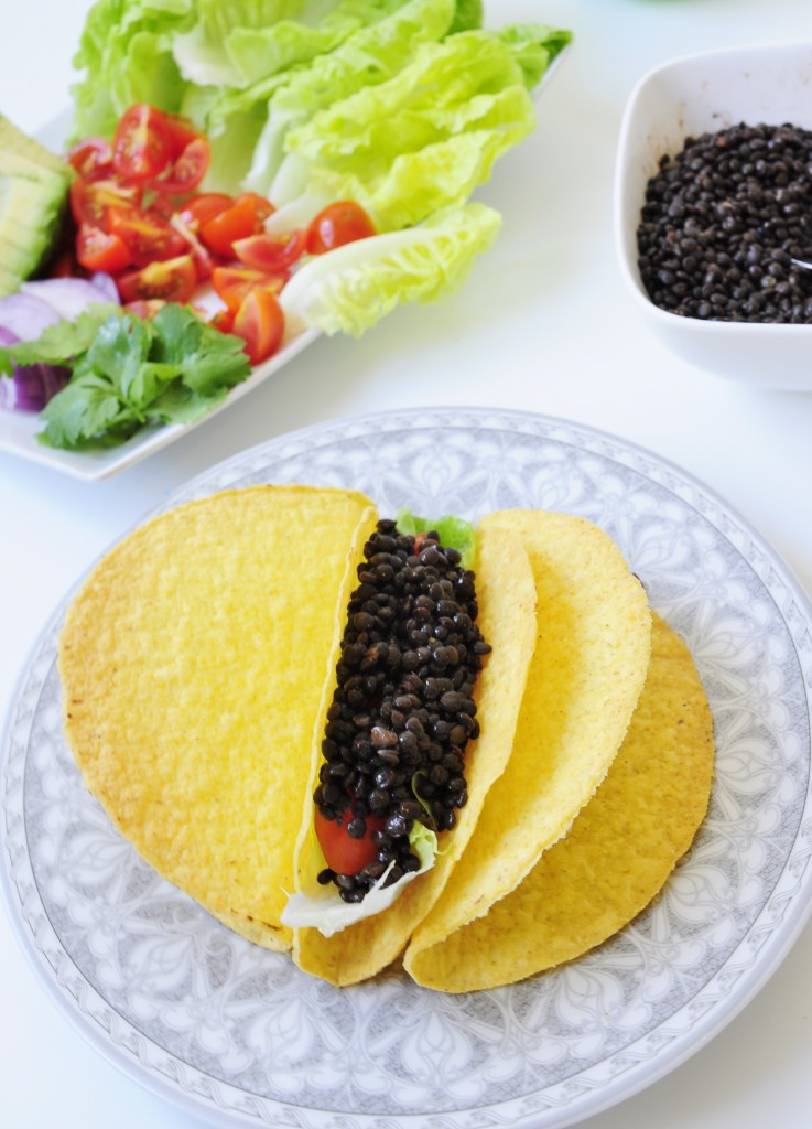 Beluga Black Lentil Taco Recipe - Vegan Family Recipes
