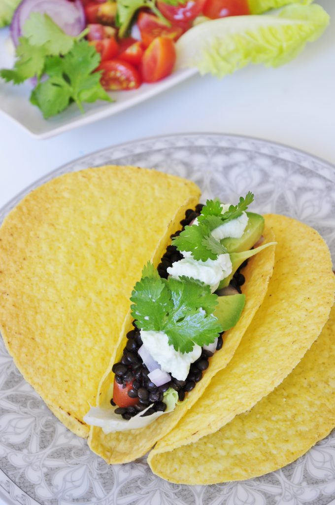 Black Lentil Tacos Recipe - Vegan Family Recipes