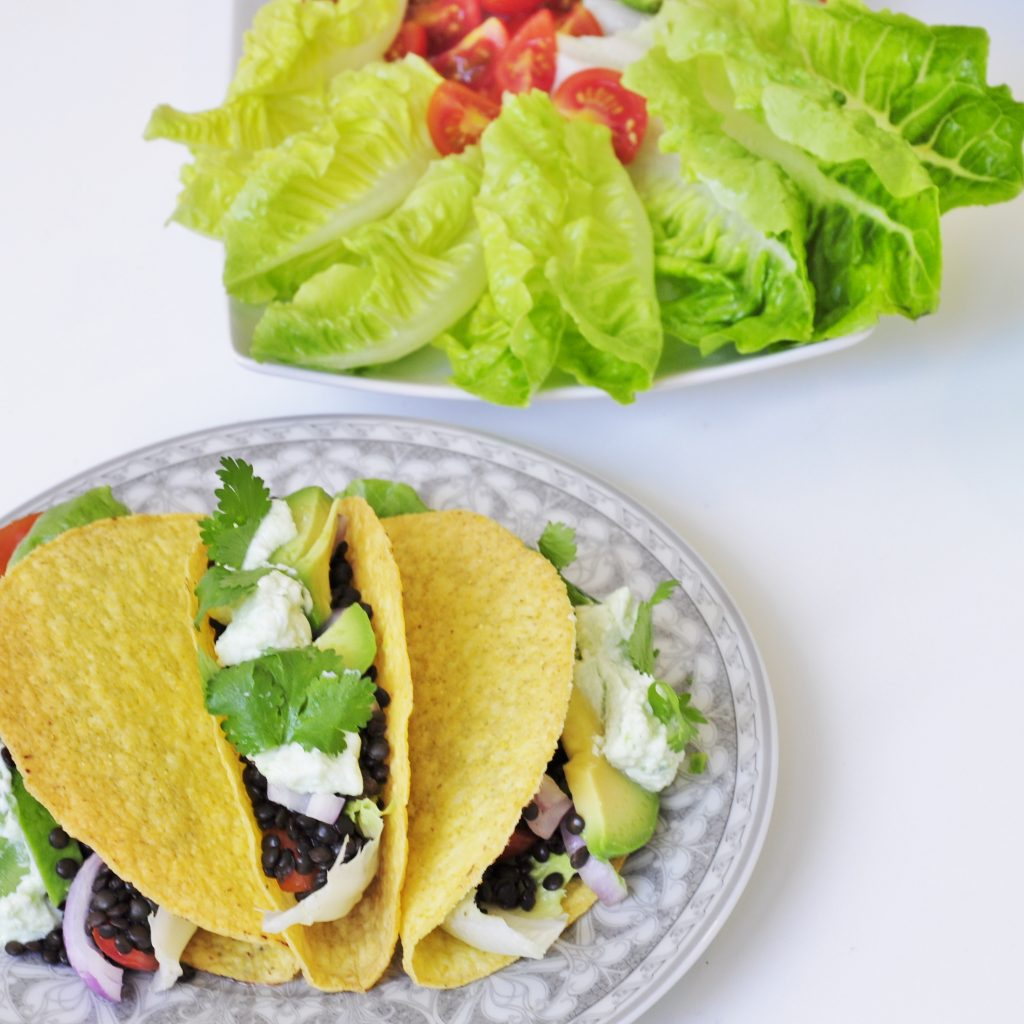 Beluga Lentil Taco Recipe - Vegan Family Recipes