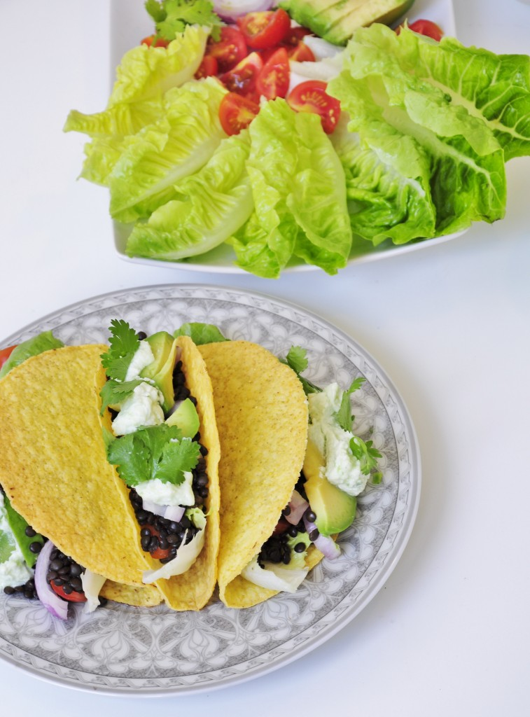 Black Lentil Taco Recipe - Vegan Family Recipes
