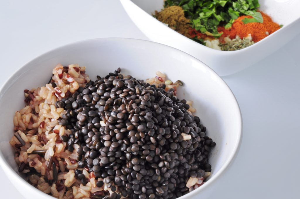 Beluga Black Lentils and wild rice - Vegan Family Recipes