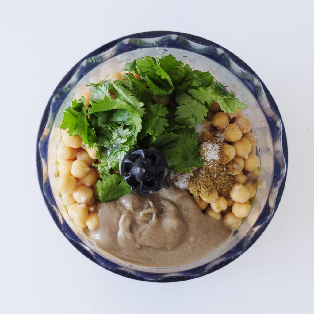 Hummus Ingredients - Vegan Family Recipes