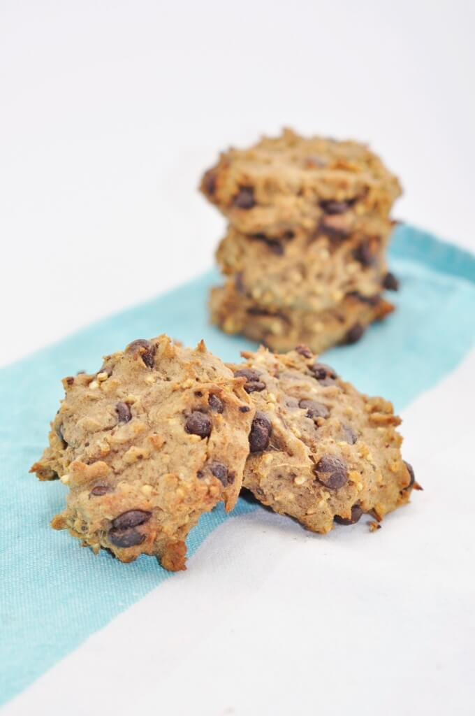 Puffed Quinoa Protein Cookies - Vegan Family Recipes