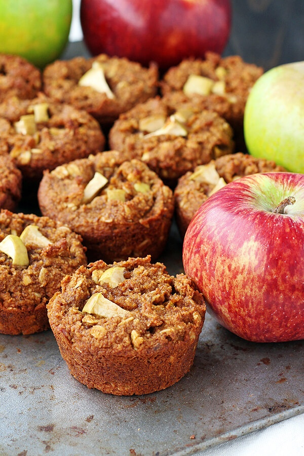 Vegan and Gluten free Pumpkin Apple Muffin Recipe