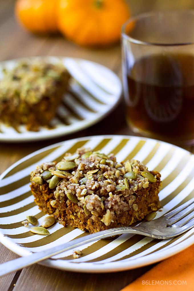 Pumpkin Pecan Cake Recipe