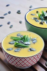 Sweet Potato Cauliflower Soup Recipe - Vegan Family Recipes