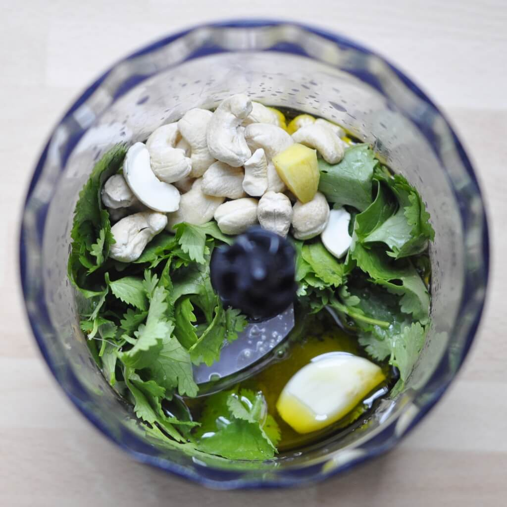 Cilantro Basil Pesto Recipe - Vegan Family Recipes