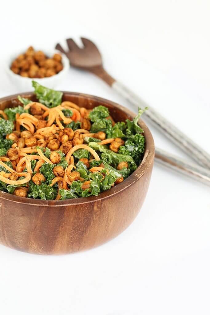 Sweet Potato Noodles spiralizer recipe