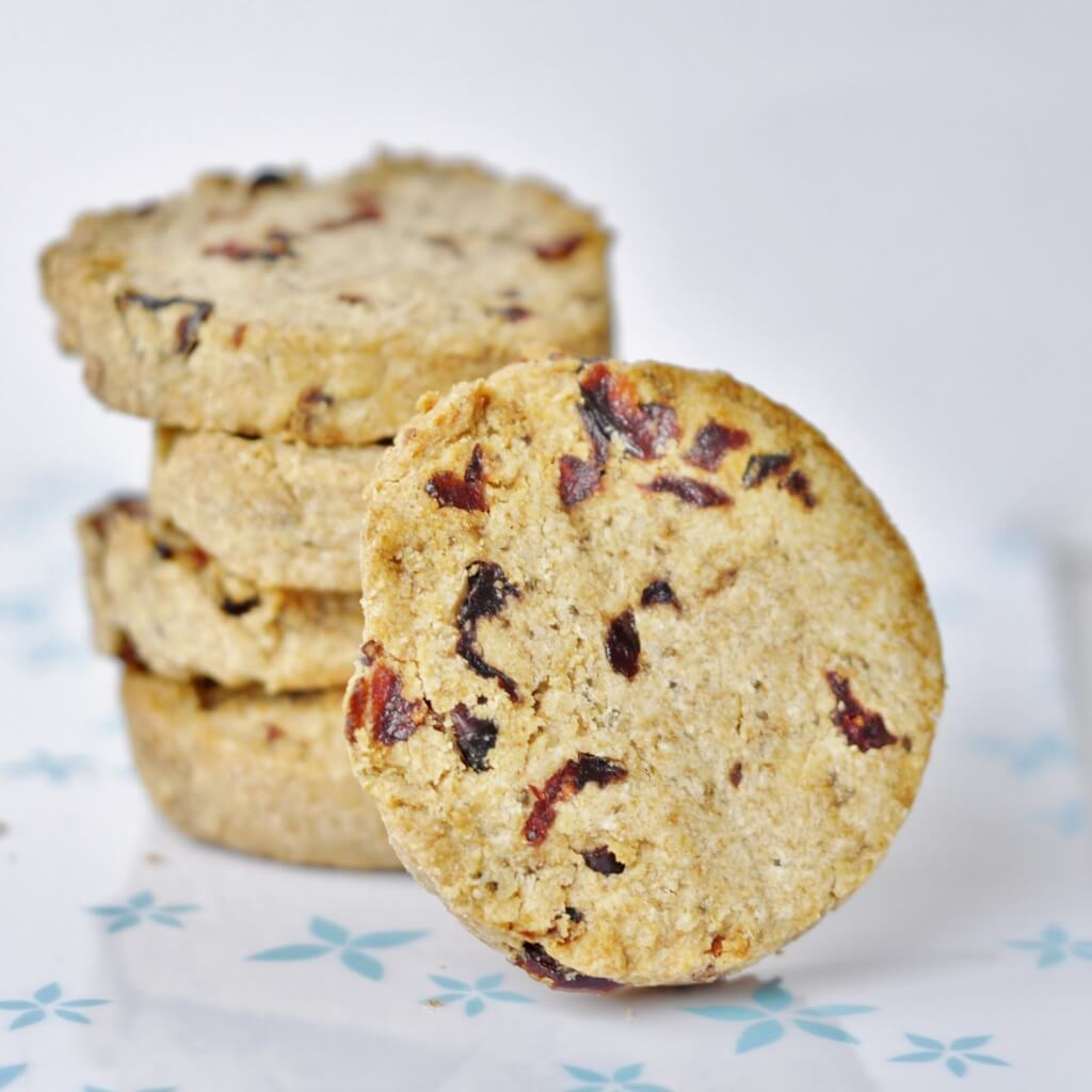 Coconut Butter Cranberry Cookie Recipe - Vegan Family Recipes