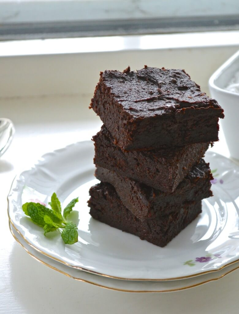 Sweet Potato Brownies Vegan Gluten free Recipe