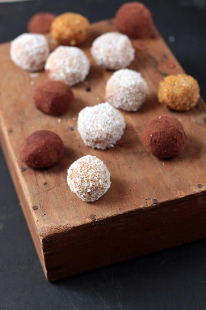Sweet Potato Protein Balls Recipe - Vegan and gluten free