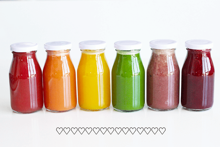 Pressed Rainbow Juice Recipe