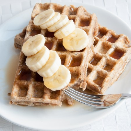 Whole Wheat Waffles Recipe - Vegan Family Recipes blog