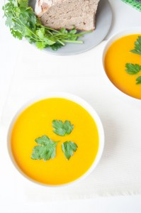 Easy Ginger Carrot Soup - Vegan Family Recipes