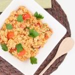 Easy Bulgur Salad Recipe - Vegan Family Recipes