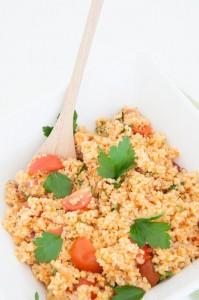 How to cook bulgur recipe - Vegan Family Recipes