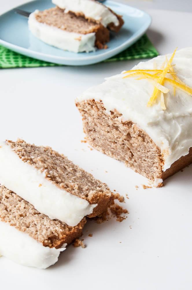 Healthy Lemon Loaf Cake Recipe - Vegan Family Recipes