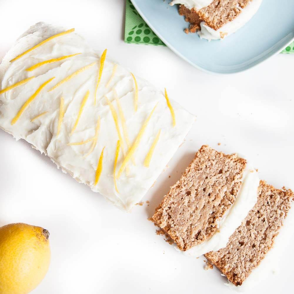 Vegan Lemon Cake Recipe with Cococnut Oil Frosting - Vegan Family Recipes