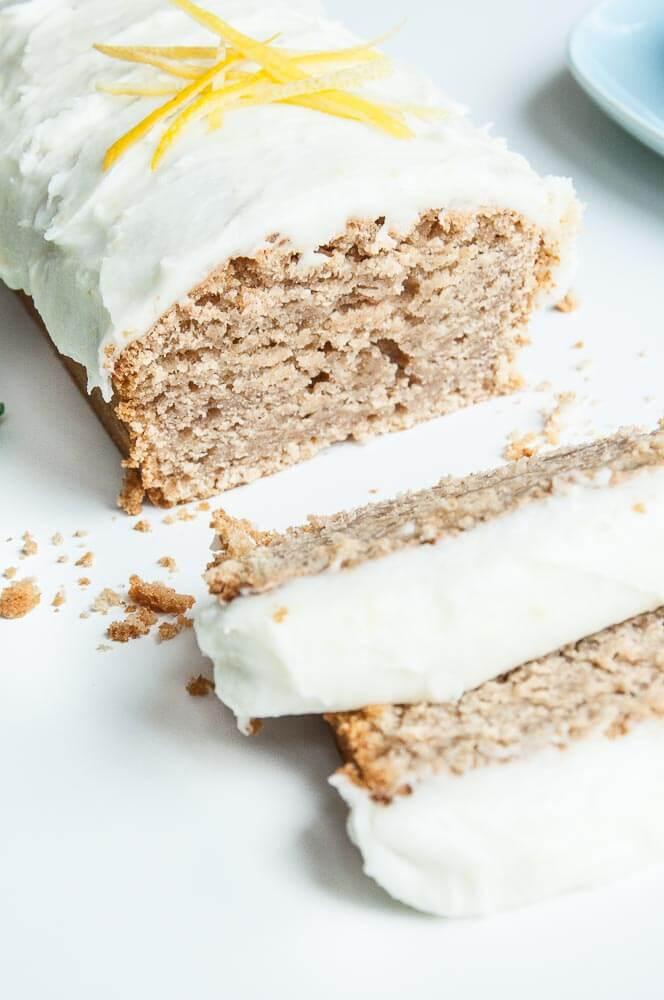 Easy Lemon Loaf Cake Recipe - Vegan Family Recipes
