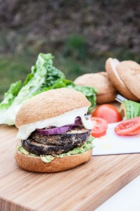 Vegan Eggplant Burger Recipe - Vegan Family Recipes