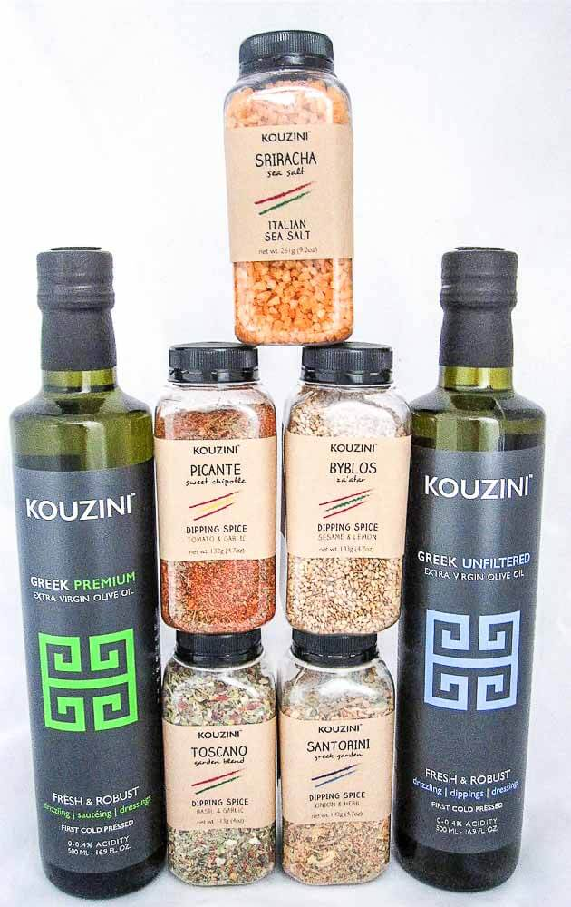 Kouzini Olive Oil Dipping Sauces