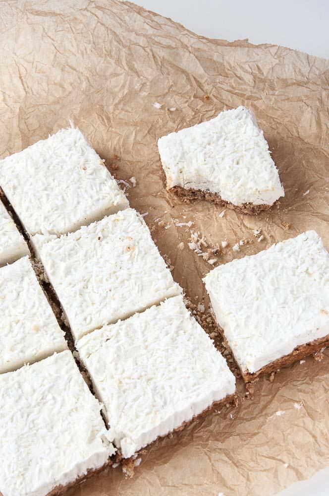 Lemon Cream Bars Recipe - Vegan Family Recipes
