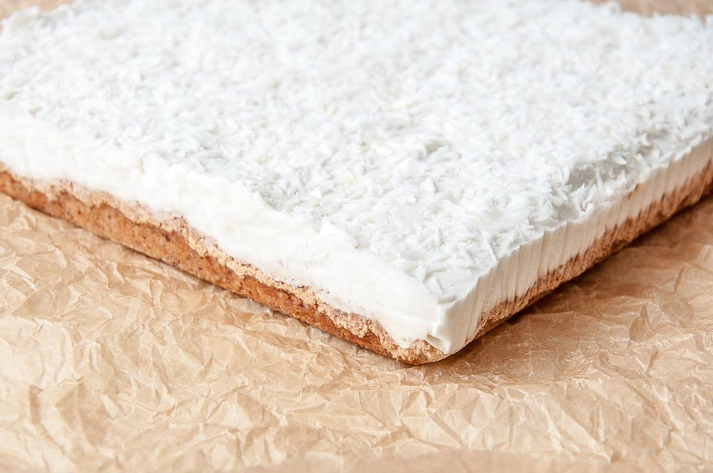 Coconut Lemon Bars Recipe - Vegan Family Recipes